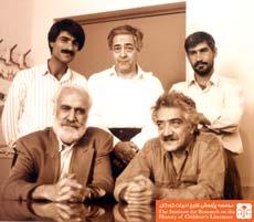 بهرام خائف  و احمد رضا احمدی