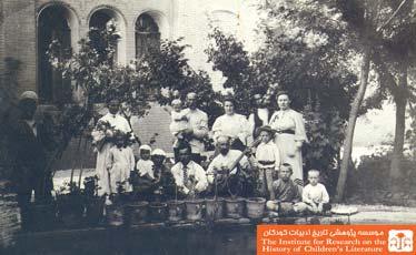 نخستین کادر مدرسهی آلیانس، همدان