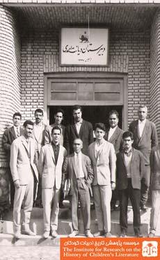 صمد بهرنگی در دبیرستان دیانت احمدی
