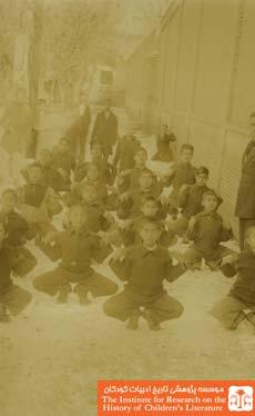دانش آموزان کلاس پنجم و ششم مدرسه پهلوی