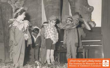 اجرای نمایش توسط دانش آموزان ارمنی