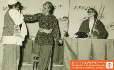 اجرای نمایش در مدرسه