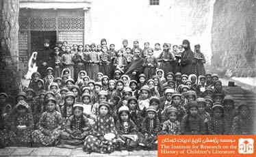 دختران ملیله دوز ارمنی در مدرسه دخترانه راهبه ها جلفای نو