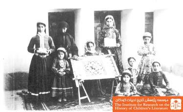دختران ارمنی در مدرسهای در جلفا