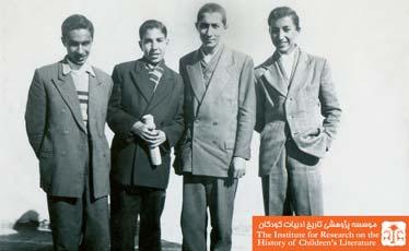 نورالدین زرین کلک(راست)
