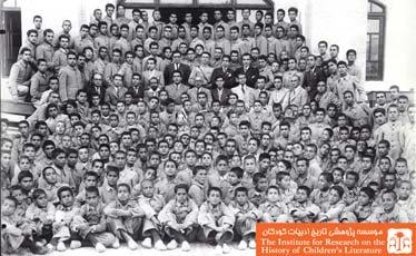 فارغ التحصیلان مدرسه سعدی اصفهان