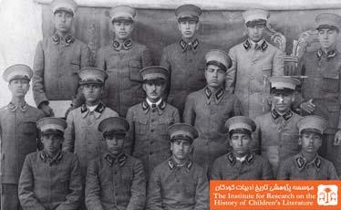 دانش آموزان دبیرستان سعدی
