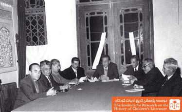 هیئت تحریریه نشریهی ادارهی فرهنگ استان دهم