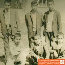 بهرام شاه محمدلو کلاس چهارم دبستان کمال