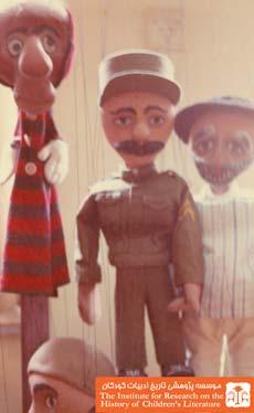 عروسکهای نمایش کدو قلقلی و دیو