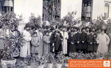 ناصراالدین شاه و کودکان
