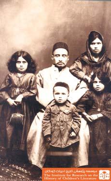 آقا لطف الله ملا و خانوادهاش، روسیه